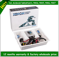 Wholesale fast bright high quality H1,H3,H4,H7,H8,H9,H11,H13,9004,9005,9006,9007 hid xenon kit