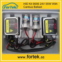 Hot Sale AC 24V 55W Canbus HID kits 9006 4300K 6000K Electronic Car Xenon Light