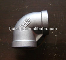 inox asme 316l forged pipe fittings 90 deg elbow