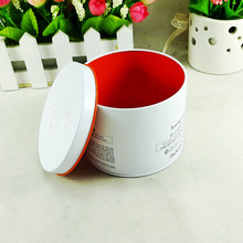 Cosmetic metal packaging small round tin box
