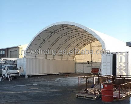 Prefabricated PVC Container Canopy