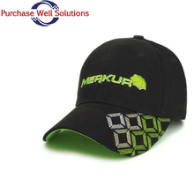 High quality embroidered 6 panels fitted baseball cap