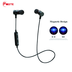 Foste-HT9 New arrival,and hot sale bluetooth V4.0 stereo headset, mini wireless sport bluetooth headphone with mic