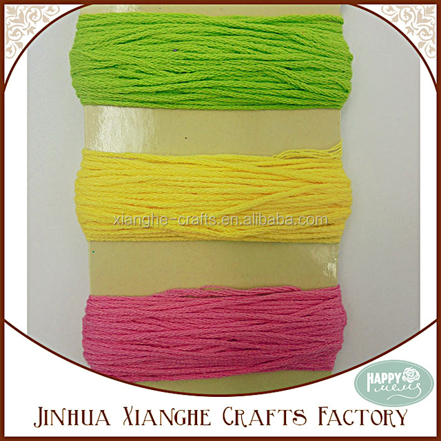 Various Pure Color Cotton Thread Embroidery Thread Wholesale