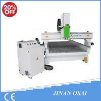Osain 1325 3D Automatic CNC Router Engraver Machine / Stone Wood Carving Machine For Sale