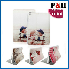 2015 Pu leather stand case for iPad mini with fashion display