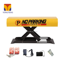 parking barrier lot space protector with remote control