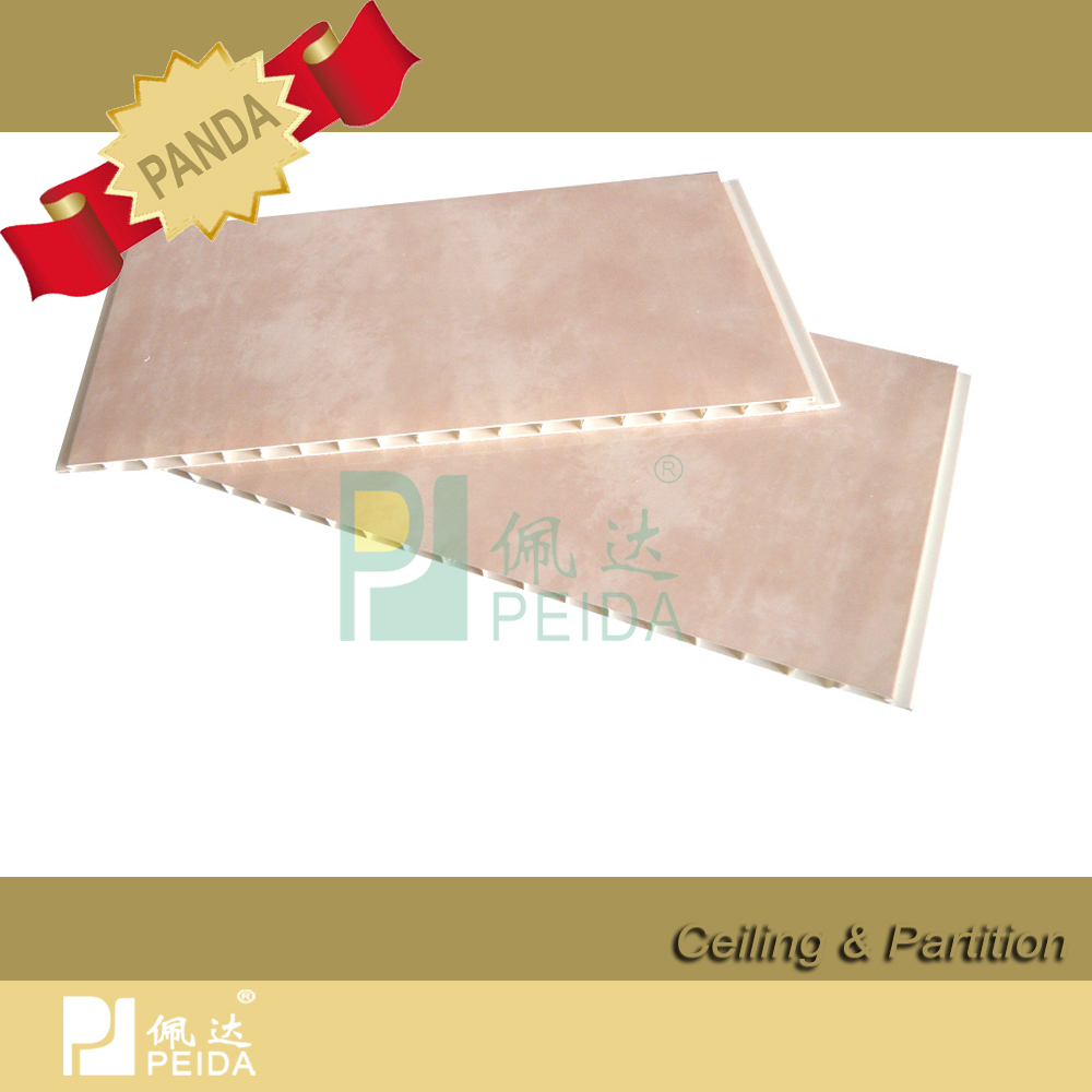 2016 Best Price PVC Wall Panel with Groove
