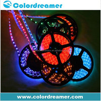 DMX512 control 5050 rgb dream color 6803 ic dmx rgb strip led light