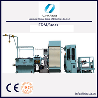 Brass wire Automatic Wire Drawing Machine With Online Annealer