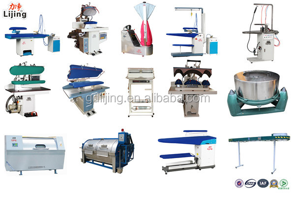 Electric Industrial Laundry Iron Press Steam Press Dry