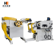 Auto NC servo coil feeder, straightener and uncoiler 3 in 1 machine fro making auto parts