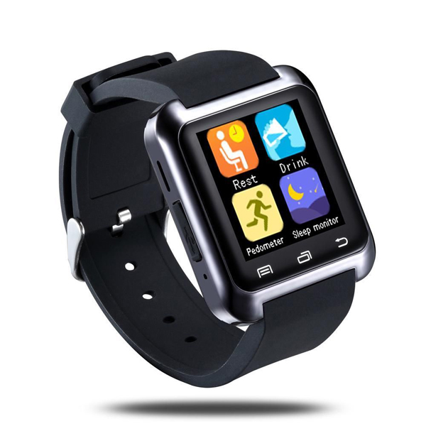 Luxury android Smartwatch U8 Bluetooth Smart Watch WristWatch Phone with Camera Touch Screen for IOS Android Smartphone