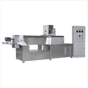High output 53kw CE certification pet food processing machine