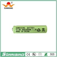 Button top Sunrising Nimh AAA 200mah 1.2v rechargeable battery