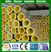 50mm Thick Glass Wool Pipe Insulation Cladding