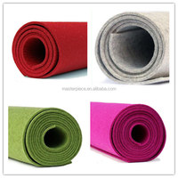 100% pure color wool felt with high quality /craft colorful wool felt
