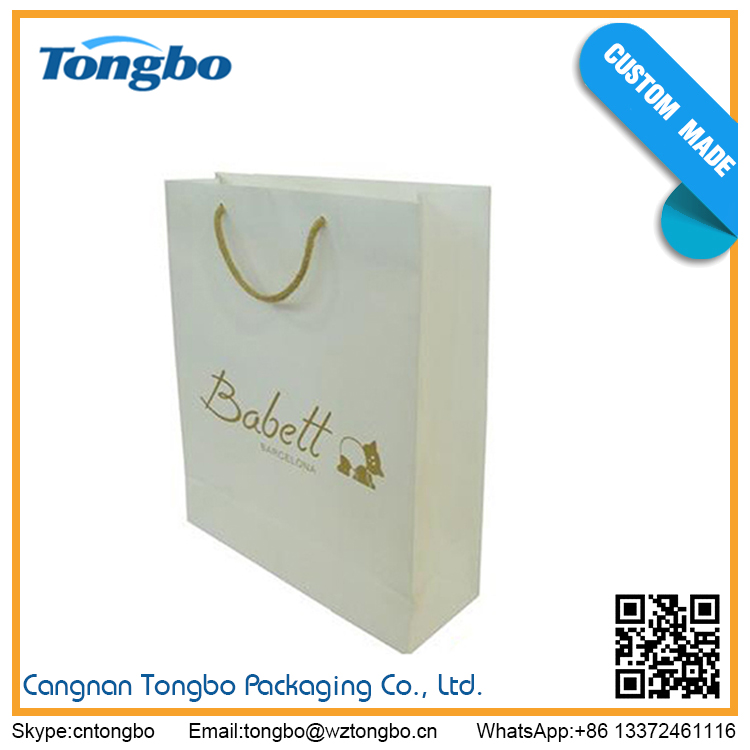 China Wholesale High Quality Company Paper Bag