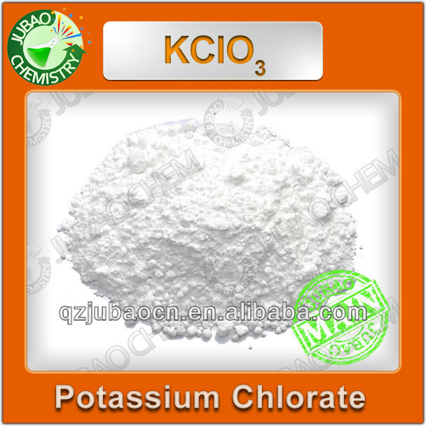 99.5% White Powder KCLO3 Industrial Potassium Chlorate Chemical