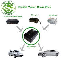 SHINEGLE 5kw electric motor kit for ev car