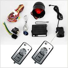 vibration remote car alarm security system