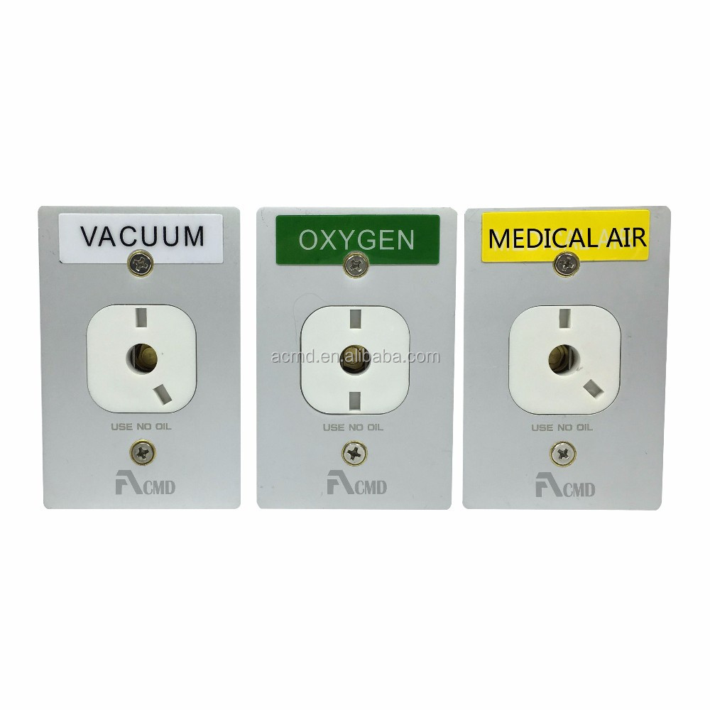 Oxygen Gas Chemetron Hospital Gas Outlets For Vacuum Regulator