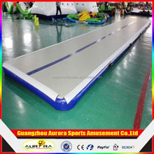 DWF Material and gym mat Type Inflatable Air floor ,inflatable Tumble track