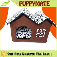 Factory price Deluxe Cute and Cozy Dog Bed, dog cat pet bed house for small dog cat bed