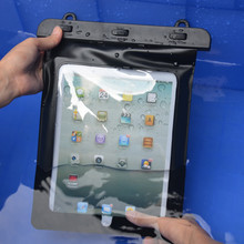 Waterproof Bag Tablet Pouch Dry Cases Cover for iPad Mini for iPad 2 3 4 for Samsung galaxy Tab for Kindle Fire for Huawei Media