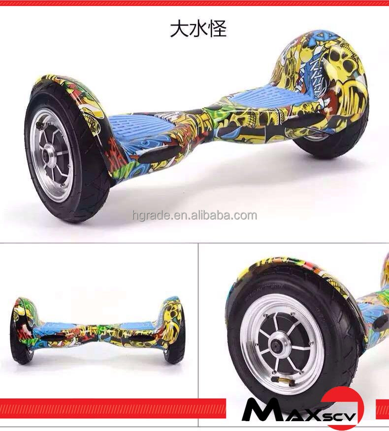 2016Max wholesale china self balancing scooter 2 wheels bluetooth hoverboard with samsung battery