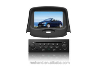 1G CPU Car Radio For Peugeot 206 With GPS A8 Chipset 3 Zone POP 3G Wifi Bluetooth TV Ipod 20 Dics Playing Free Map