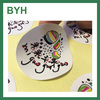 High Quality Self Adhesive Label Sticker Art paper round sticker customized
