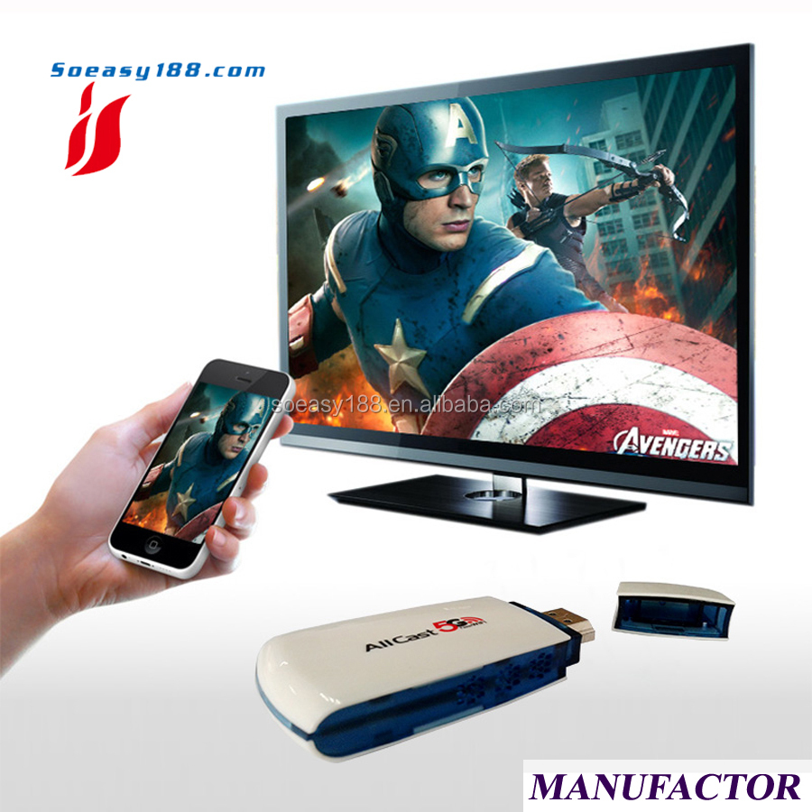 ezcast m3 for miracast airplay dlna mirroring phone to TV big screen support YouTube