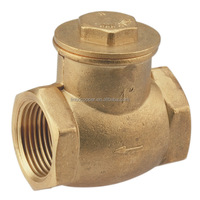"Gutentop Yuhuan Plumbing Best Quality size 1-1/4"" NPT bronze c95800 wafer check valve"