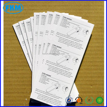 top grade fashion watermark paper printing
