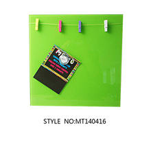 Flexible Magnetic Glass Dry Erase clip Whiteboard