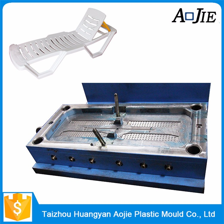 Single Or Multi Mould Cavity Beach Chair Plastic Injection Mold Maker