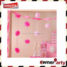 Cheap Convenient Hanging Beautiful Wedding Hanging Decorations