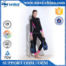 Women Long Sleeve Neoprene Wetsuit Diving Suit