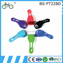High quality bike warning safety lamp led bicycle light front light with multi colors