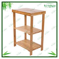 durable portable handy modern bamboo bookshelf