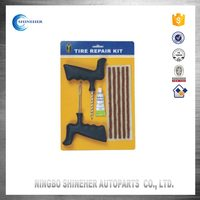 Car Tyre Puncture Repair Liquid Tubeless Tire Repair Seal String Kit