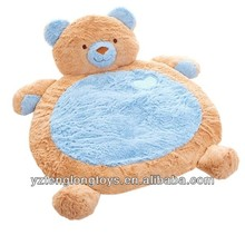 Cute infant gift plush bear baby play mat, baby sleeping mats