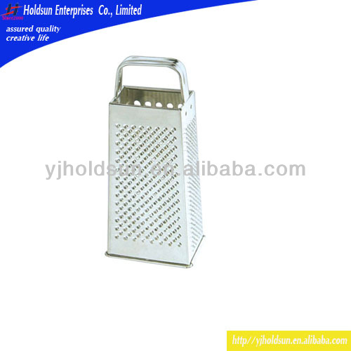 4 Sides Stainless Steel Grater, Portable Mini Grater