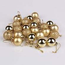 Christmas Tree Ball Decoration Xmas Party Wedding Hanging Ornament