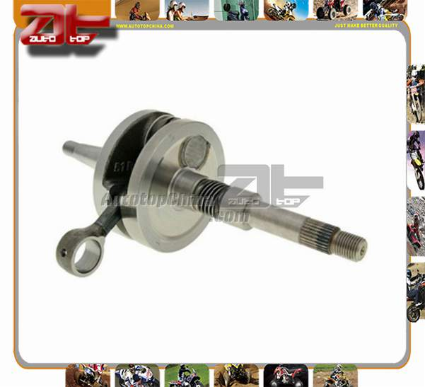 Motorcycle Crankshaft parts crank assy bearing For HONDA DIO AF27