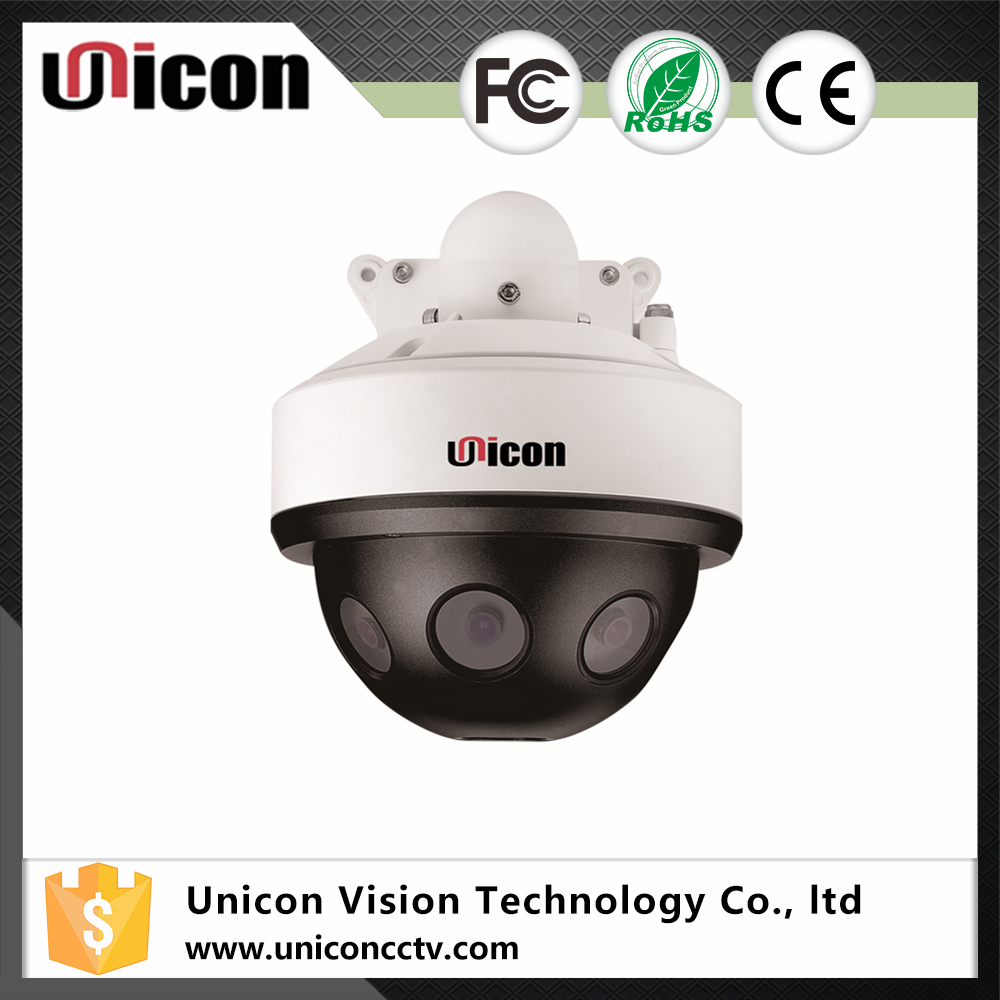 Unicon Vision 8 Lens 24MP 360 degree cctv camera day/night surveillance IP Speed Dome Camera