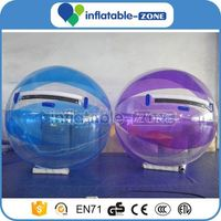 Walk ball on water durable inflatable big water walking ball/balloon inflatable water walker ball human sphere