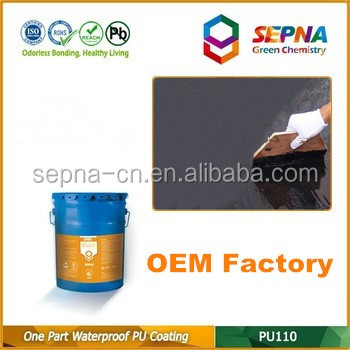 One Part PU Coating for Concrete Road