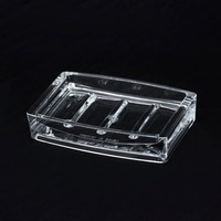 Design Simple New Clear Plastic Soap Dish